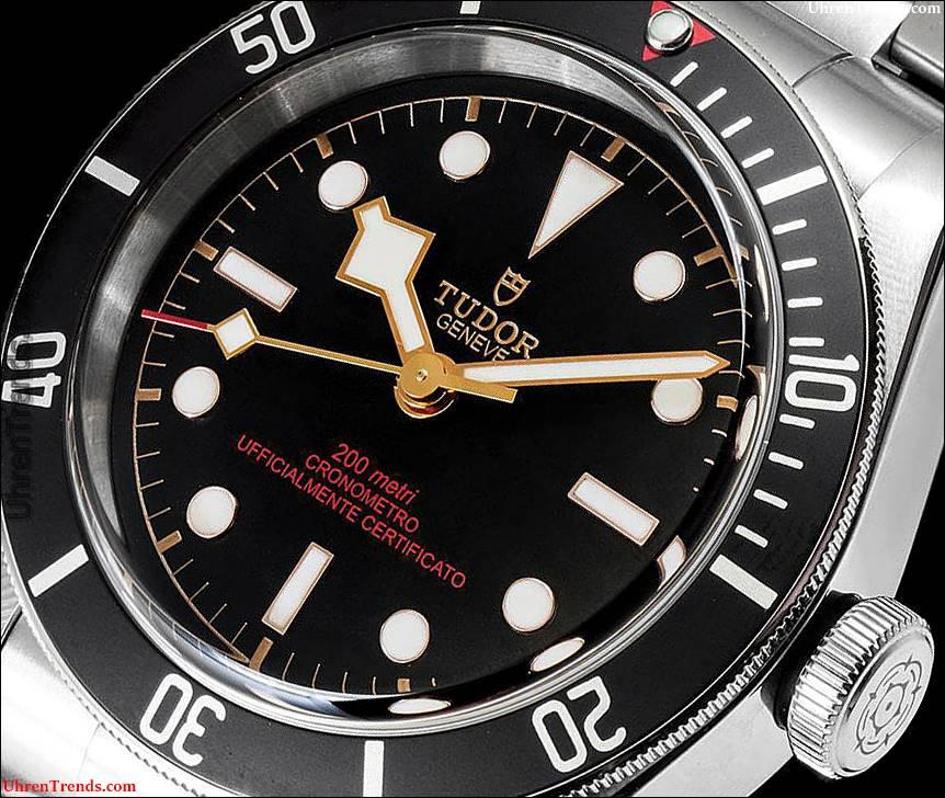 Tudor Heritage Black Bay 'Orologi & Passioni' Limited Edition Uhr Nur für Italien