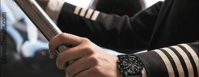 Breitling Chronoliner Blacksteel Uhr