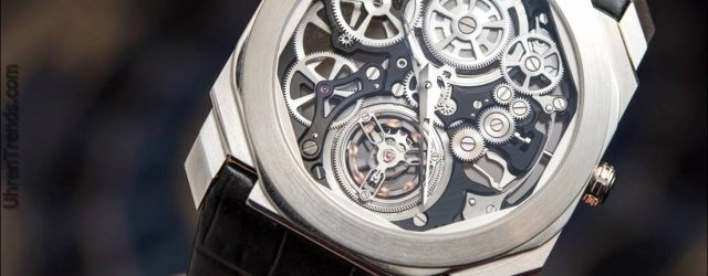 Bulgari Octo Finissimo Tourbillon Skelett Uhr Hands-On