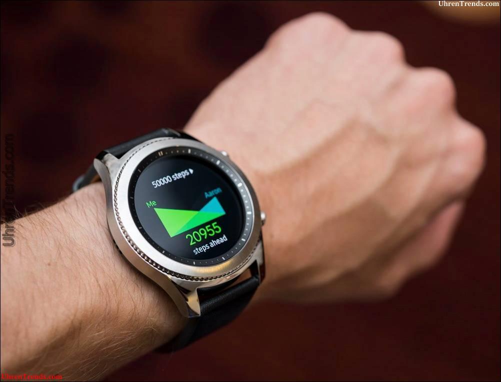 Samsung Gear S3 Frontier & Classic Smartwatches zum ersten Mal