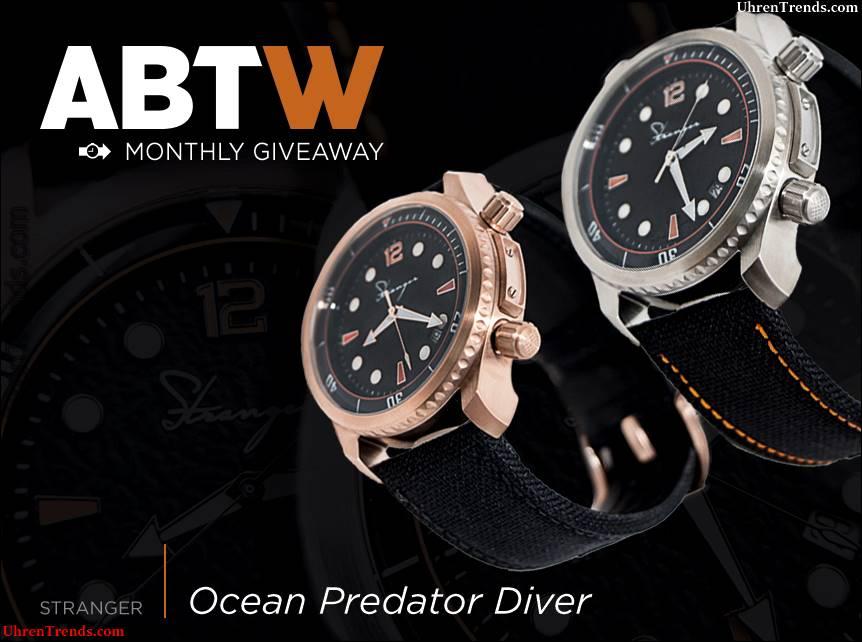 Gewinner angekündigt: Fremde Ozean Predator Taucheruhr Werbegeschenk