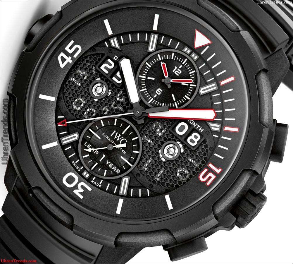 IWC Aquatimer Perpetual Kalender Digital Datum-Monat-Ausgabe '50 Jahre Aquatimer 'Uhr In neuem' Ceratanium 'Material