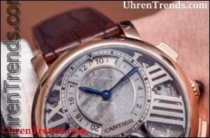 Cartier Rotonde De Cartier Erde und Mond Uhr Hands-On