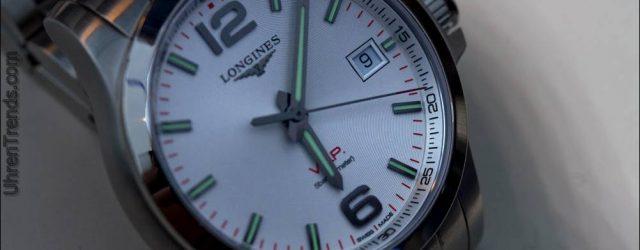 Longines Conquest VHP 'Sehr hohe Präzision' Uhren Rückkehr
