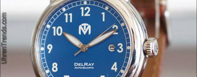 McDowell Time DelRay Uhr mit Seiko kinetische Bewegung