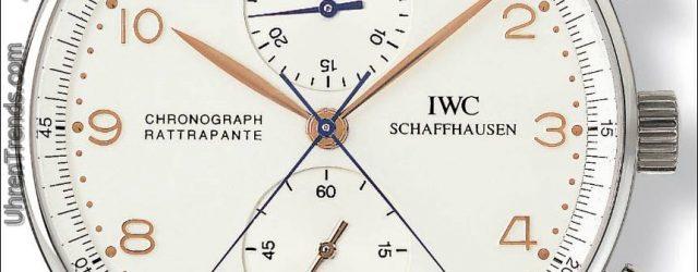 Drei neue IWC Portugieser Chronograph Rattrapante Uhren Ehrenstädte von Mailand, Paris und München