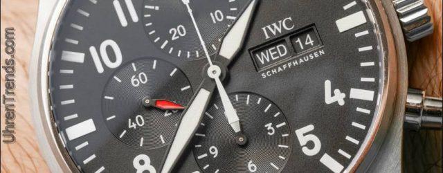 IWC Fliegeruhr Chronograph Watch Review