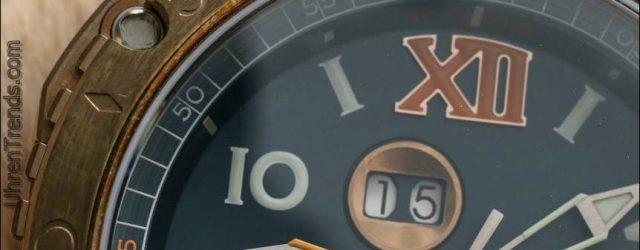 Visconti W110 Grand Cruise Bronze Uhr Bewertung