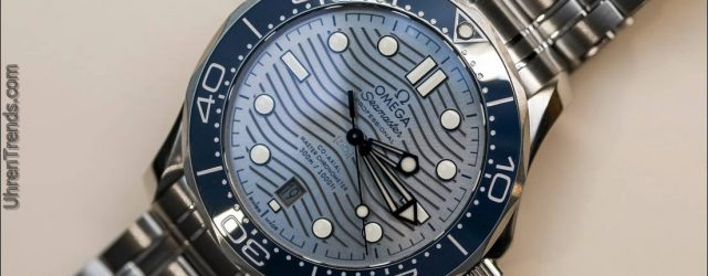 Omega Seamaster Taucher 300M Stahl Uhren für 2018 Hands-On