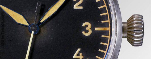Laco Flieger Erbstück Uhren sind sorgfältig von Hand gealtert