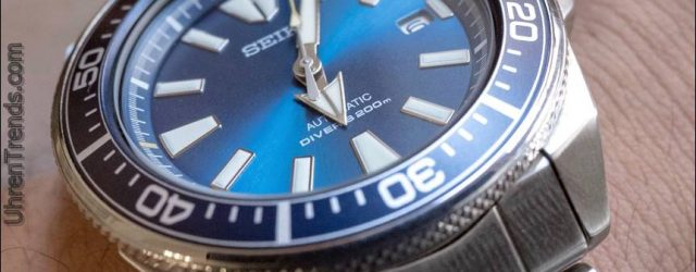 Seiko Prospex Blaue Lagune Samurai SRPB09 Limited Edition Watch Review