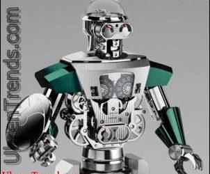 MB & F Balthazar Roboteruhr