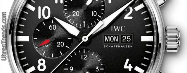 IWC Große Fliegeruhr und IWC Fliegeruhr Chronograph