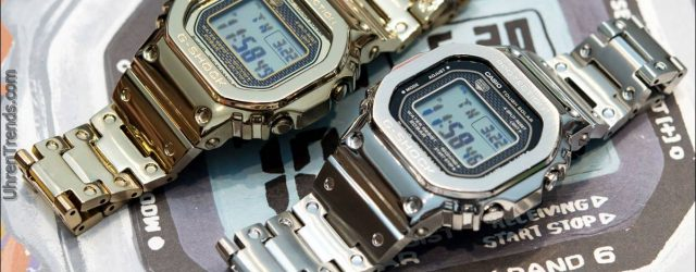 Hands-On mit dem Casio G-Shock GMW-B 5000 D-1 'Vollmetall'