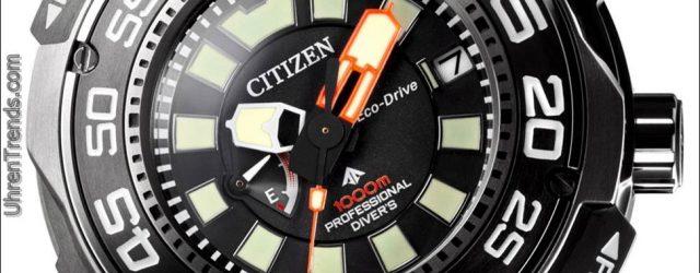 Citizen Promaster Eco-Drive Professional Taucher 1000m Uhr
