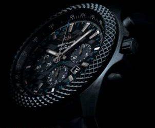 Breitling Bentley GT 'Dark Sapphire' Edition Uhr