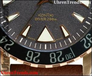 Eterna KonTiki Bronze Manufaktur Uhr