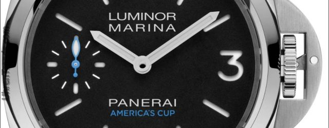 Panerai Luminor Limited Edition Uhren für den 35. America's Cup