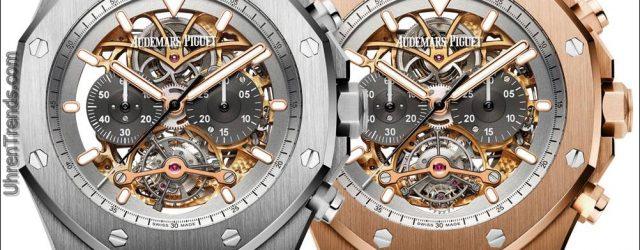 Audemars Piguet Royal Oak Tourbillon Chronograph durchbrochen Material Gute Uhr