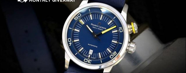 Gewinner angekündigt: Maurice Lacroix Pontos S Taucher 'Blue Devil' Limited Edition Watch