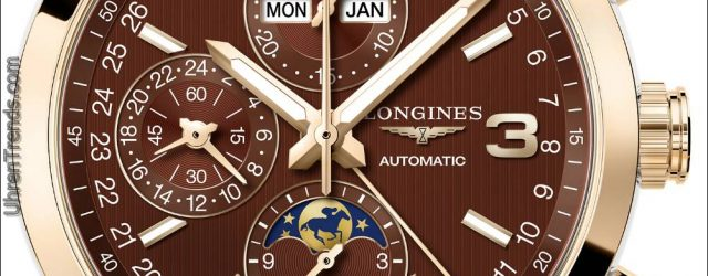 Longines Eroberung Classic Triple Crown Limited Edition Uhr