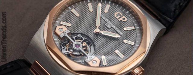 Girard-Perregaux Laureato Tourbillon Uhr zum Anfassen