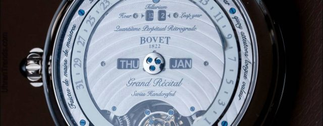 Bovet Récital 22 Grand Récital Uhr Hands-On