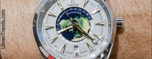 Omega Seamaster Aqua Terra Worldtimer Master Chronometer Platinum Uhr Hands-On