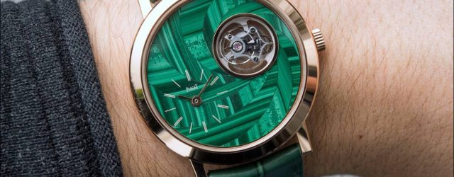 Piaget Altiplano Flying Tourbillon Stein Intarsien Zifferblatt Hands-On