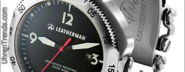 Leatherman Tread Watch mit Werkzeugarmband