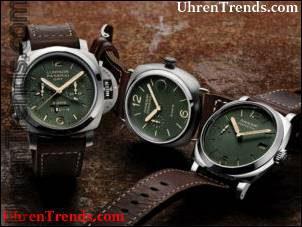 Panerai Green Dial Limited Edition PAM735, PAM736 & PAM737 Kollektion Uhren