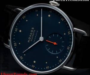 Nomos Neomatik Nachtblau Uhren