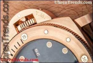Panerai Luminor Tauchfähige 1950 3 Tage automatische Bronzo PAM 671 Uhr Hands-On