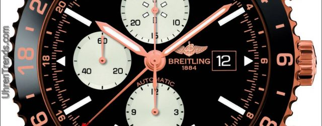 Breitling Chronoliner Rotgold Limited Edition Uhr