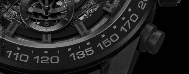 TAG Heuer Carrera Heuer-01 Voll Schwarz Matt Keramik Uhr Für CHF7.000