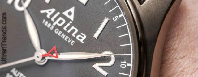 Alpina Startimer Pilot Automatikuhr für 2017 Hands-On