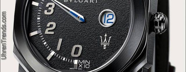 Bulgari Octo Maserati Mono-Retro GranSport & GranLusso Uhren