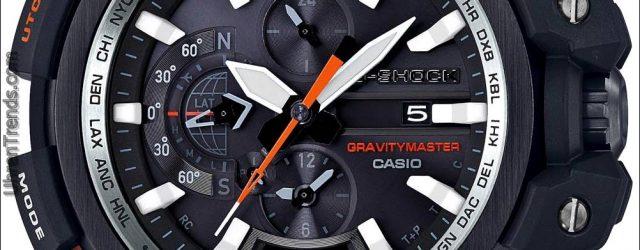 Casio G-Shock Gravitationsmeister GPW2000-1A GPS Bluetooth verbunden Uhr