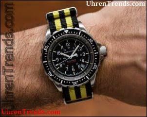 Marathon Taucher-Automatic 'GSAR' Watch Hands-On für die Fahrt, um Krebs zu erobern