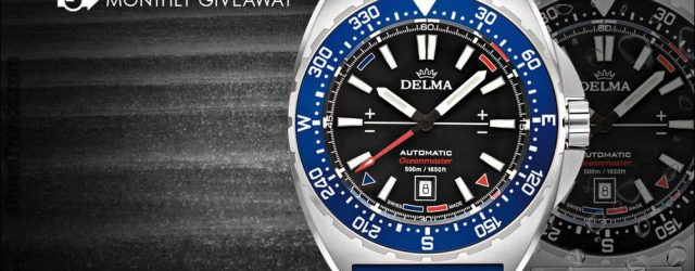 UHR GIVEAWAY: Delma Oceanmaster Automatic