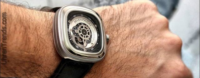 SevenFriday P1-01 Uhr Werbegeschenk zu feiern Luxe Uhren 5. Geburtstag