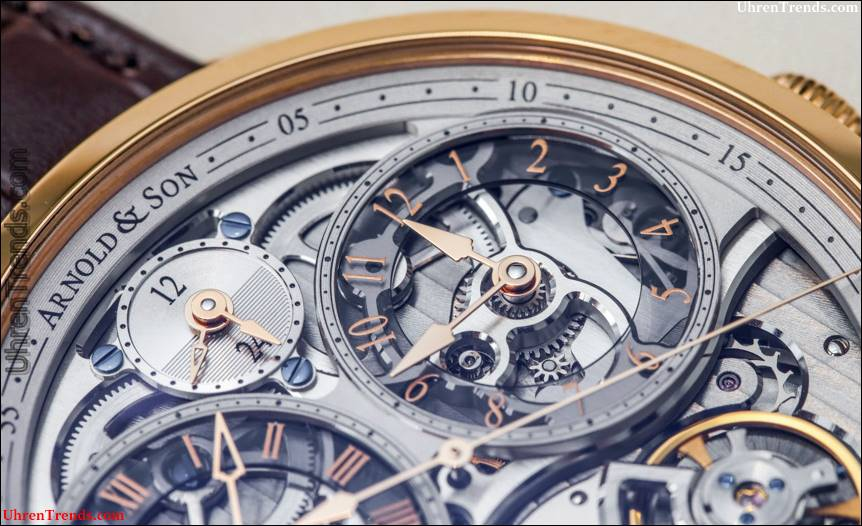 Arnold & Son DBG Skelettuhr Hands-On