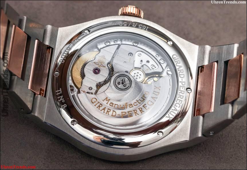 Girard-Perregaux Laureato Uhren Hands-On: Verbesserte Stahl mit Preisreduktion und neue Gold Optionen