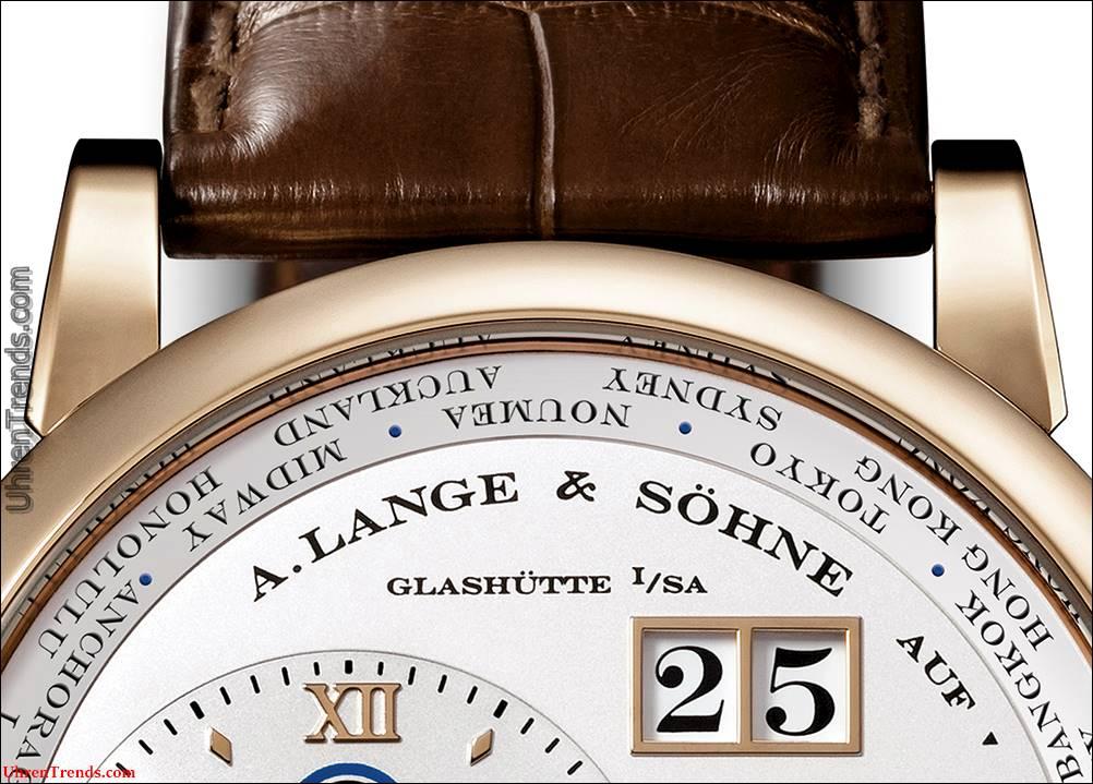 A. Lange & Söhne Lange 1 Zeitzonenuhr in Honiggold