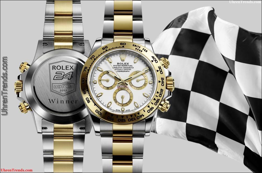 Die Rolex-Daytona-Uhr, die zum Sieger Rolex 24 Stunden Daytona Race 2017 gegeben wird