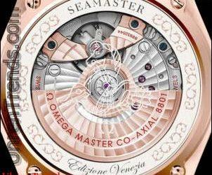 Omega Seamaster Edizione Venezia Uhr in Sedna Gold oder Edelstahl