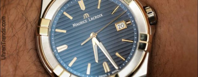 Hands-On mit der eindrucksvoll Redakteur Maurice Lacroix Aikon Automatic Watch