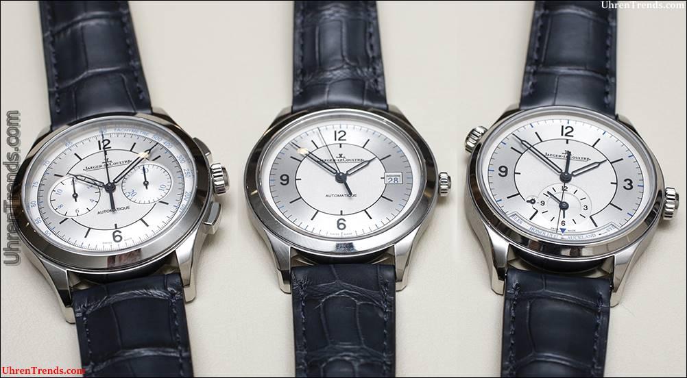 Jaeger-LeCoultre Master Steuerdatum, Master Geographic & Master Chronograph Stahl Uhren Hands-On