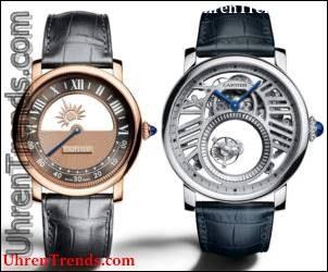 Cartier Rotonde De Cartier Geheimnisvolle Uhren für 2018