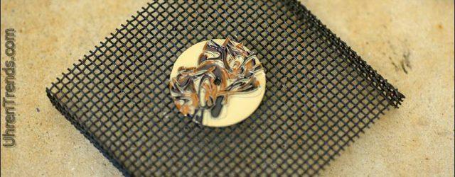 Herr Jones Whoomm & Wildstyle Uhren mit Cloisonné Zifferblättern